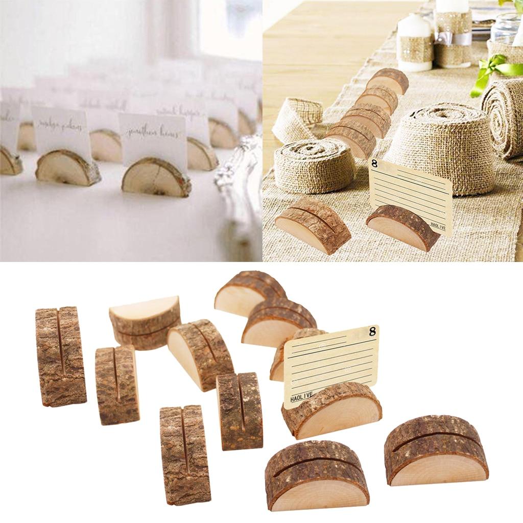 120 шт деревянные держатели для карт указателей мест за столом для свадьбы домой Бизнес вечерние украшения
