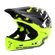 50a33b2b4d50d GUB desmontable casco de cara completa para niño ciclismo patinaje esquí  reflectante de seguridad casco con