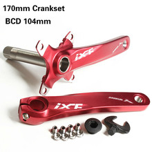 CNC Untralight Bicycle Crankset MTB Road Crank Set With Axis Aluminmum Alloy For BCD104 Dh Group