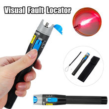 1mW 5KM Red Light Pen Visual Fault Locator Fiber Optic Laser Cable Tester Meter Testing Tool Pen Type(China)