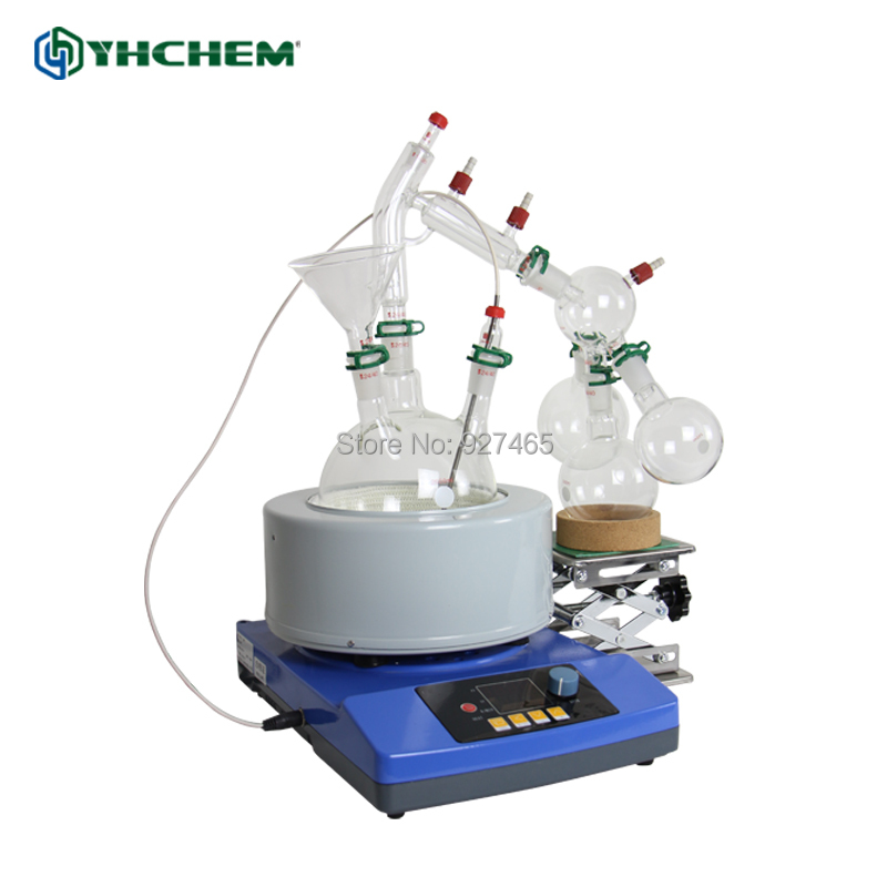YHChem New 2L SPD-2L-S High Quality Vacuum Short Path Distillation Part Stock AvailableYHChem New 2L SPD-2L-S High Quality Vacuum Short Path Distillation Part Stock Available