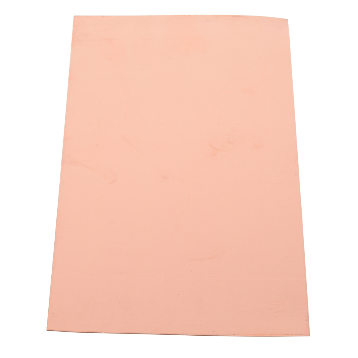 1pc 99.9% Pure Copper Sheet 100*200*0.5MM Cu Metal Plate Foil Panel Thermal Stability Pads