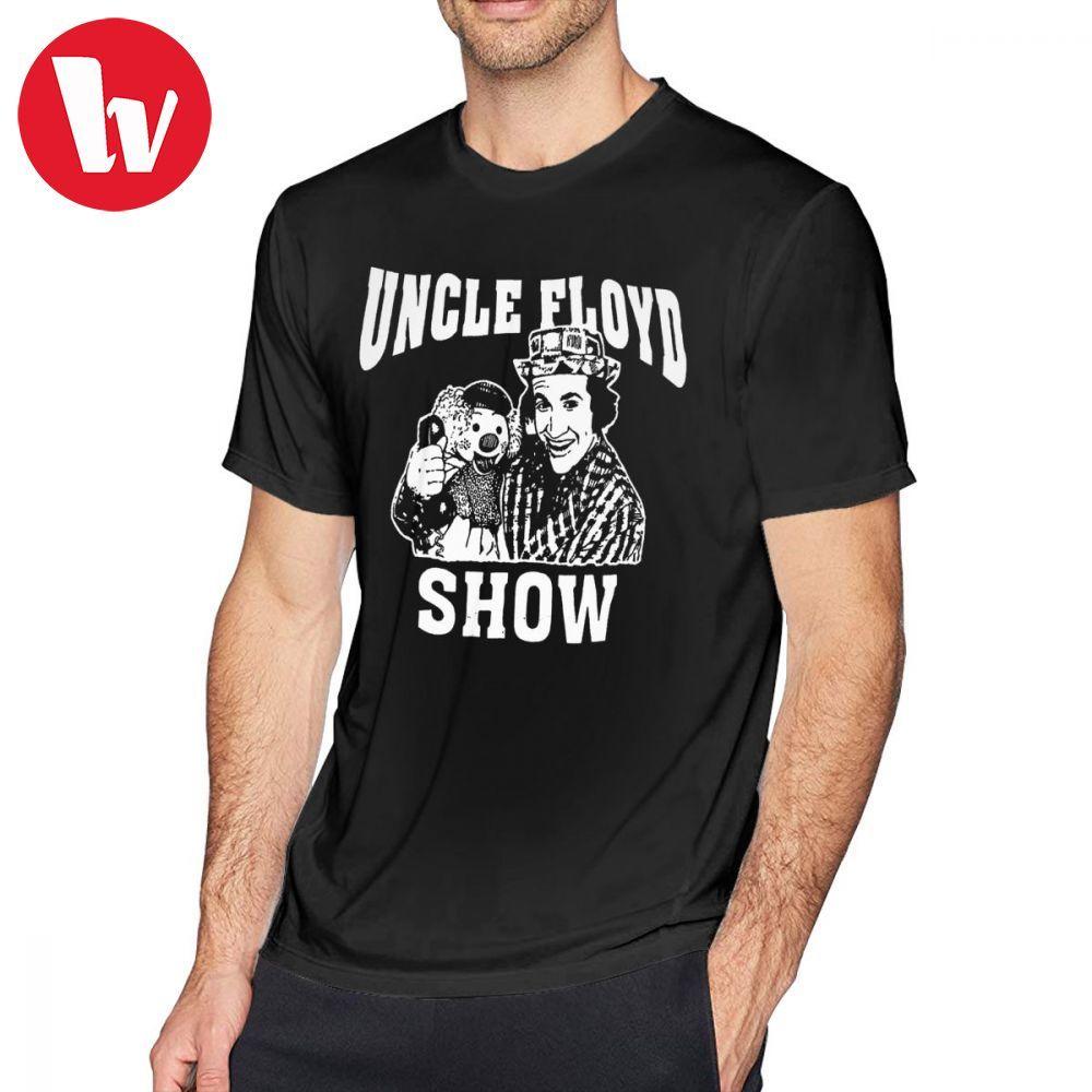 Ramones T Shirt Uncle Floyd Show T-Shirt Cotton Short Sleeve Tee Shirt Casual Funny Men Print 4xl Tshirt