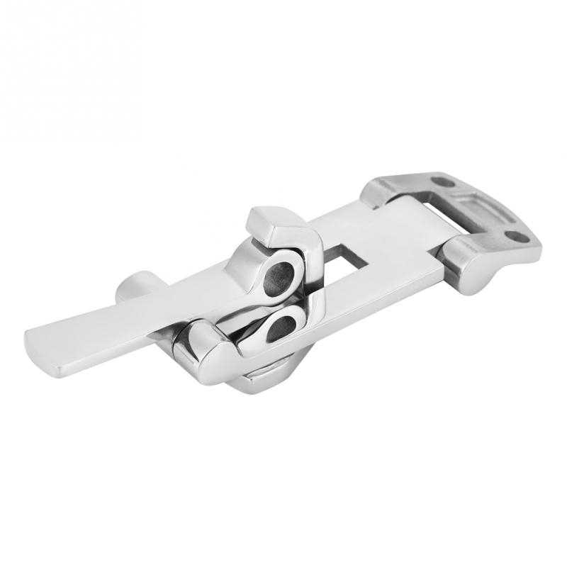 Stainless Steel Boat Locking Hatch Latch Anti-Rattle Latch Clamp Marine Hardware Ship Yacht Accessories