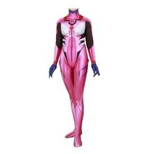 Anime Asuka Langley Soryu Cosplay Costume Neon Genesis Evangelion Unisex Zentai Suit Bodysuit Halloween For Adult