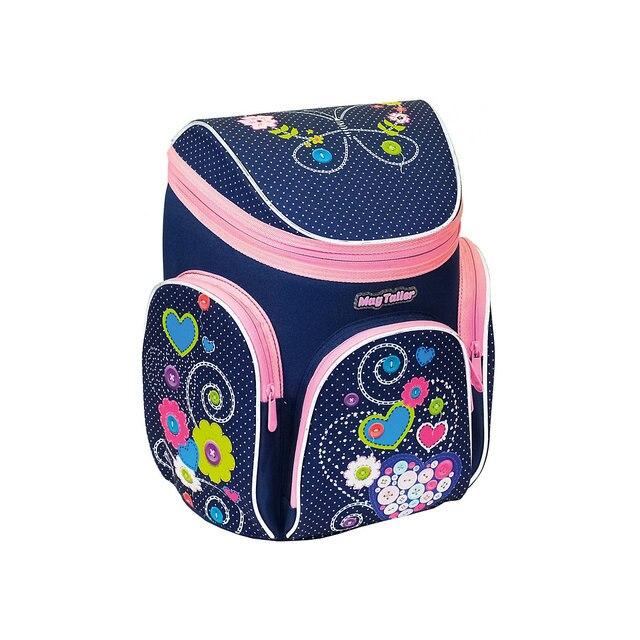 Ранец Boxi, Hearts - 38х29х19 см - 600D Polyester - принт - корпус, усиленный пластиковым каркасом, - эргономичная и вентилируем