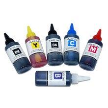 PGI580 CLI581 пигмент печатной краски пополнения чернил комплект для Canon PIXMA TS6250 TS8250 TS8251 TS8252 TS9550 TS9551C картридж для принтера