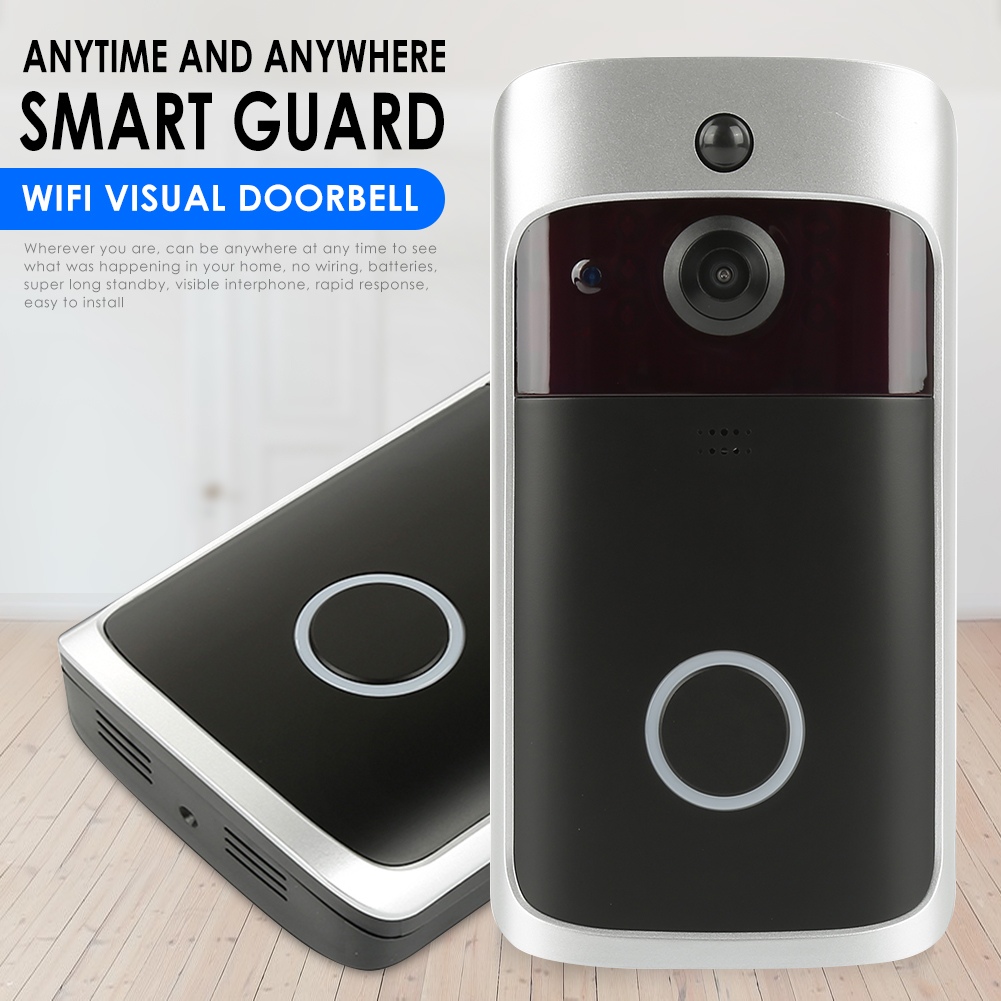 Image 4 - Smart WiFi Video Doorbell Camera Visual Intercom with Chime Lower Consumption Power Door Bell Wireless Home Security Camera-in Doorbells from Home Improvement