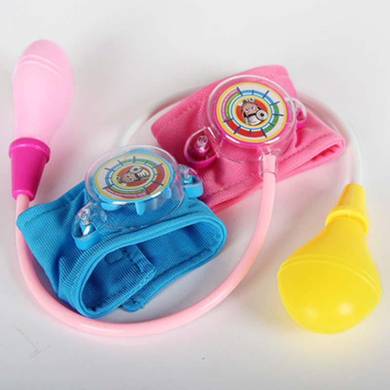 2019 Baby Girls Toys Pretend Doctor Blood Pressure Toys For Children Kids Boys Cosplay Doctor Game Pretend Play Toy