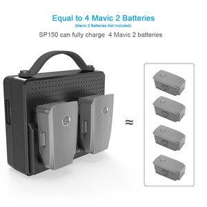 Image 2 - Smatree, baterías portátiles para DJI Mavic 2 Pro, estación de carga Compatible con carga simultánea de dos Mavic 2 Zoom