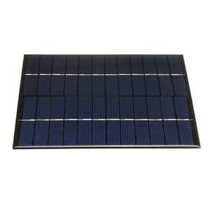 Image 3 - CALTIE 12V 5.2W 165*210 مللي متر مصغرة ألواح شمسية متعدد الكريستالات/ البلورات الايبوكسي مجلس DIY الايبوكسي الكريستالات الخلايا للالهاتف المحمول