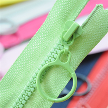 Punk No. 3 resin zippers for sewing decorative childrens color zipper puller sleeping bag garment accessories AQ018