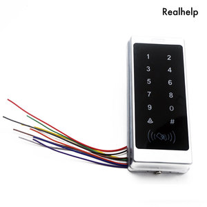 Image 3 - دعم 1000 بطاقة و 500 كلمة اللمس لوحة المفاتيح الدخول نظام مكتب الوصول للماء التحكم في الوصول يجاند RFID بطاقة قارئ