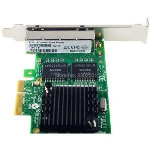 Image 3 - FANMI I350 T4 4 ポートギガビットイーサネット PCI Express X4 インテル I350AM4 サーバアダプタネットワークカード