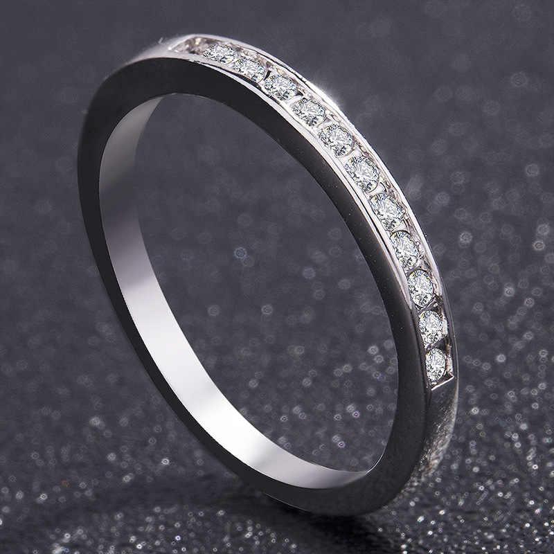 3/pcs คริสต์มาสของขวัญสีขาวออสเตรียงานแต่งงานสำหรับสุภาพสตรีที่มี Paved Micro คริสตัลเงินสีเจ้าสาวหมั้นเครื่องประดับของขวัญ