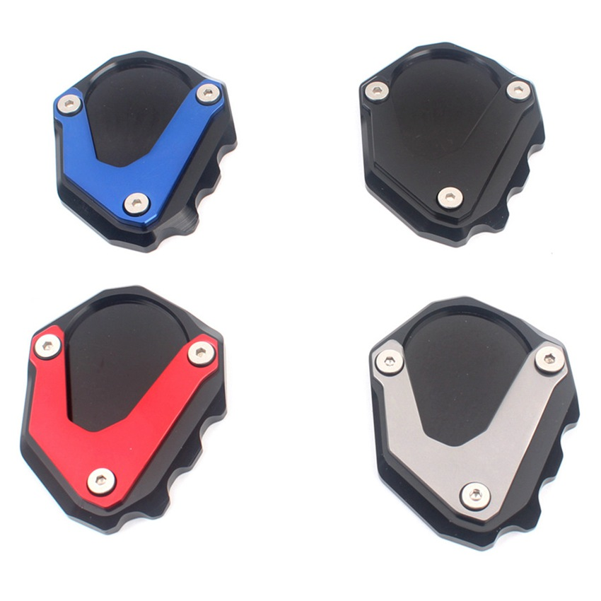 CNC Side Stand Kickstand Extension Plate Enlarge Pad For BMW  R nineT R NINE T 2013 2014 2015 2016