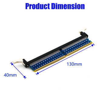 XT-XINTE DDR4 288Pin Adapter DDR4 Memory Test Protection Card Circuit Board DDR4 Adapter Card for Desktop PC