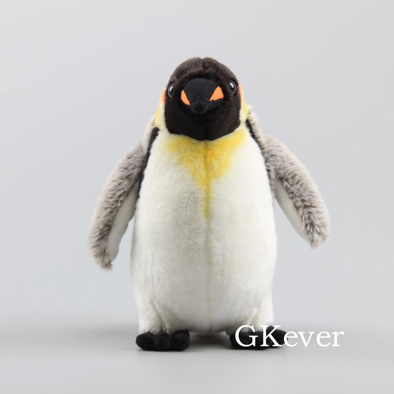 23 cm realista pinguim pelucia brinquedo de pelucia bonecas da vida real adoravel pinguim animais de
