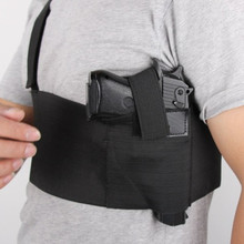 Durable and Flexible Tactical Adjustable Belly Band Waist Pistol Gun Holster Belt GirdleNew Safety Harness