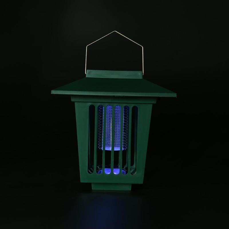 3 LED Rectangle Solar Mosquito Repellent Lamp Mosquito Killer Lamp Garden Lawn Insect Bug Zapper Pest Repeller in Repellents from Home Garden