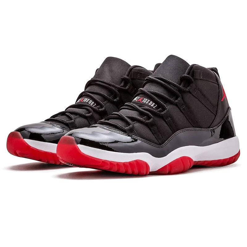 newest collection 4655a 67bd6 Nike Air Jordan XI Bred AJ 11 Shoes