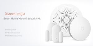 Image 5 - Original Xiaomi 4 in 1 mijia Smart Home kits Security Set Multifunctional Gateway Window Door Sensor Wireless Switch