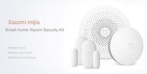 Image 5 - الأصلي Xiaomi 4 في 1 mijia الذكية أدوات منزلية الأمن مجموعة متعددة الوظائف بوابة نافذة مستشعر الباب اللاسلكية التبديل