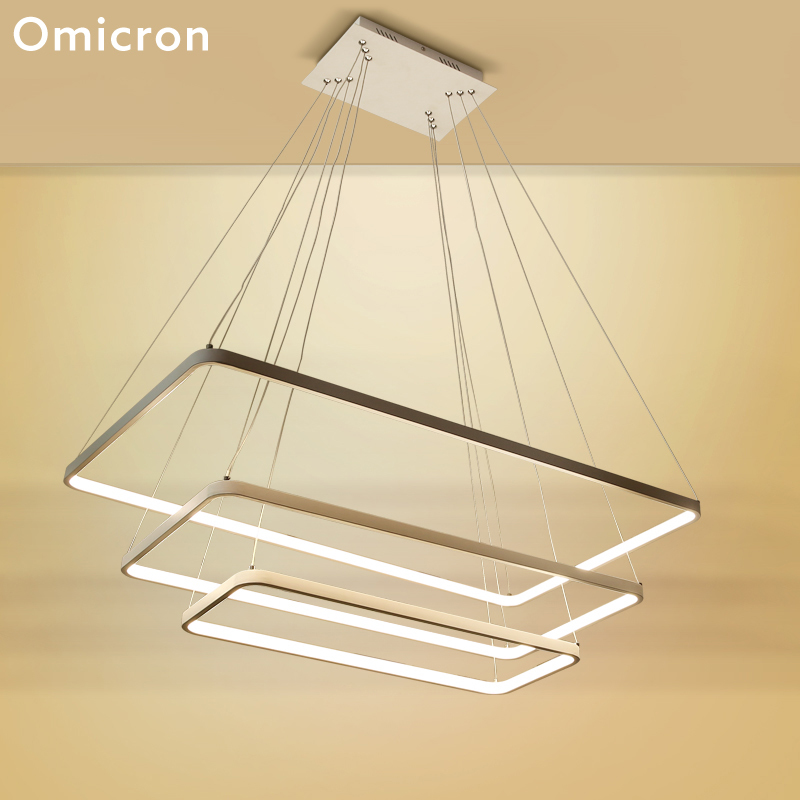 Omicron Led Chandeliers Ceiling Frames Originality For Kitchen Study Room Lighting Home Decor Fixtures Lights
