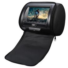 Universal Auto Headrest Bag DVD Monitor HD Display MP5 USB LCD Screen Car Pillow Headrest Monitor Car Accessories Drop Shipping