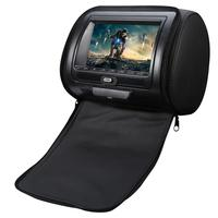 Universal Auto Headrest Bag DVD Monitor HD Display MP5 USB LCD Screen Car Pillow Headrest Monitor Car Accessories Drop Shipping