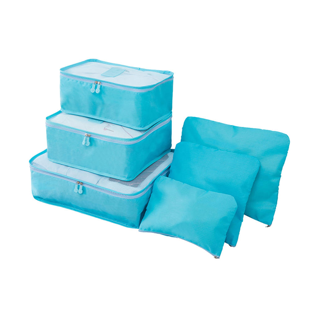 6pcs Waterproof Closet Underwear Shoes Wardrobe Luggage Pouch Travel Storage Bag Organizer For Clothes organizador armario in Storage Bags from Home Garden