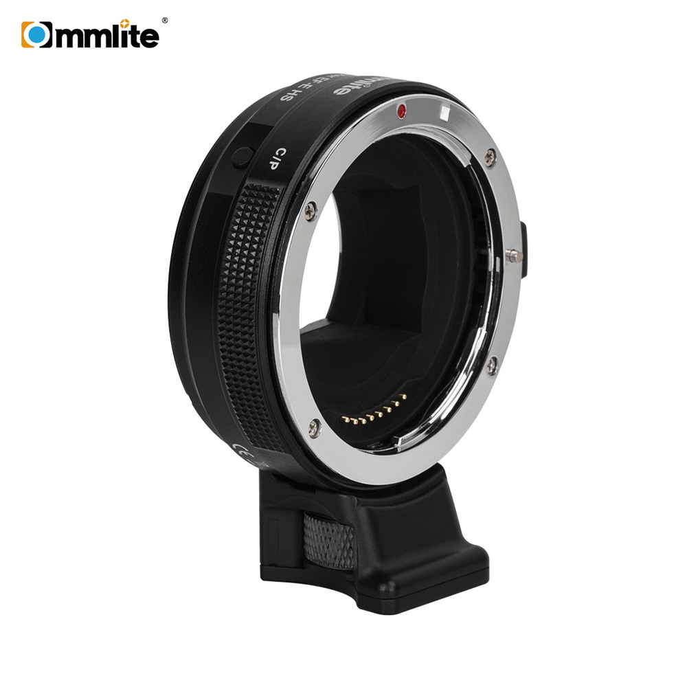 Commlite CM EF E HS Electric Lens Mount Adapter Ring AF Auto Focus for Canon EF