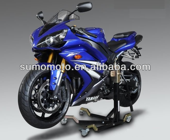 Motorcycle central stand paddock lift for Yamaha Honda BMW DUCATI contact us for adapter before buying