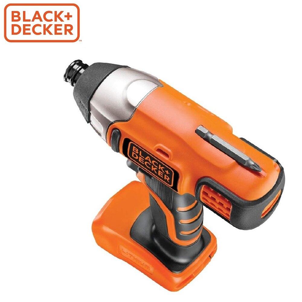 Screwdriver Black+Decker BDCIM18N-XJ screwdrivers drill repair hand tools home repairs screwdriver black decker ld12sp ru screwdrivers drill repair hand tools home repairs