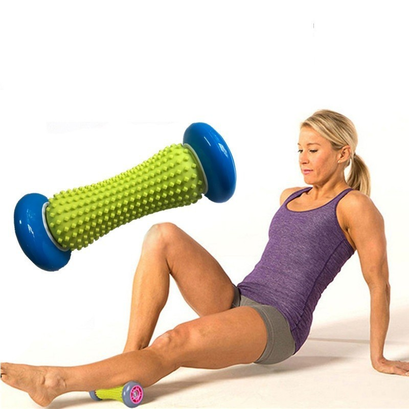 Yoga Massage Roller Arm Leg Feet Muscle Roller Massager Myofascial Release Trigger Point Fitness Gym Roller Accessories in Yoga Blocks from Sports Entertainment