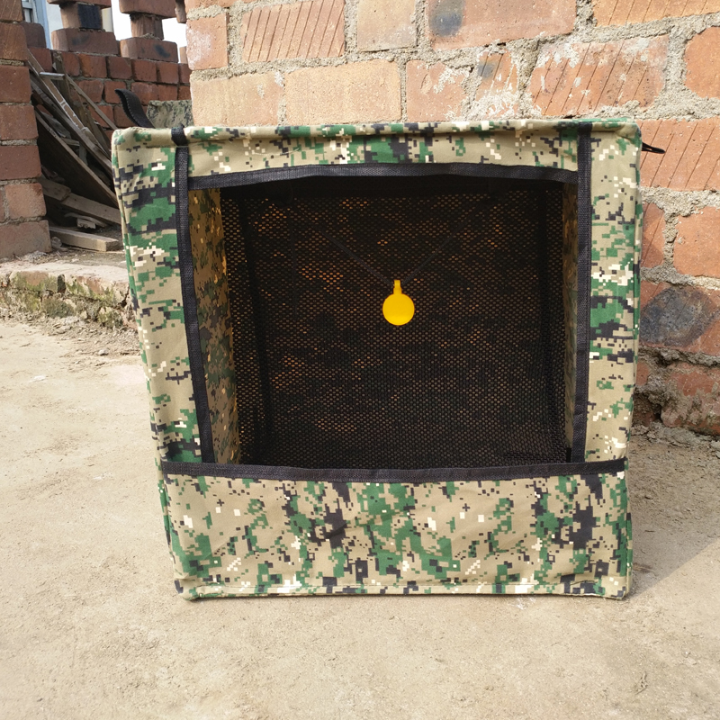 Portable Foldable Hunting Recycle Ammo Slingshot Target Box For Practice Target 40cm Outdoor Camouflage Cube