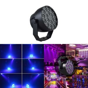 Image 2 - 54 w LED Par 18LED UV סגול LED שלב אור נקוב אור עם DMX512 עבור דיסקו DJ מקרן מכונה המפלגה קישוט שלב תאורה