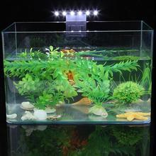 5W LED Waterproof Aquarium Lamp for Fish Tank Aquatic Plants Grow Clip-On Lighting Light Fish Tank Aquarium Products