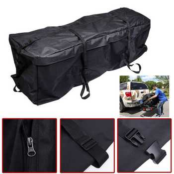 Universal Car Roof Top Bag Roof Top Bag Rack Cargo Carrier Luggage Storage Travel Waterproof SUV Van for Cars Styling image