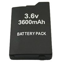 1 Pcs Just For Sony PSP Battery SLIM 2000 3000 Replacement Rechargeable 3600mah