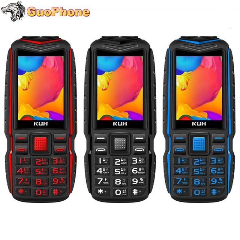 T3 Staubdicht Handy Mit Tasten Power Bank Dual Sim Karten Kamera MP3 Taschenlampe 2,4 Zoll Robuste Outdoor Günstige Handy