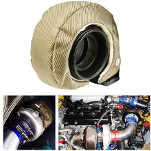 T3 T25 T28 GT35 Titanium Turbo/Turbo charger Heat Shield Blanket Cover Wrap