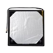 Creality 3D Isıtmalı Yatak Platformu Kiti Alüminyum Baskı Yapı Plaka 310*310mm Kablo Yüklü için Iyi CR 10/ CR 10S 3D Yazıcı