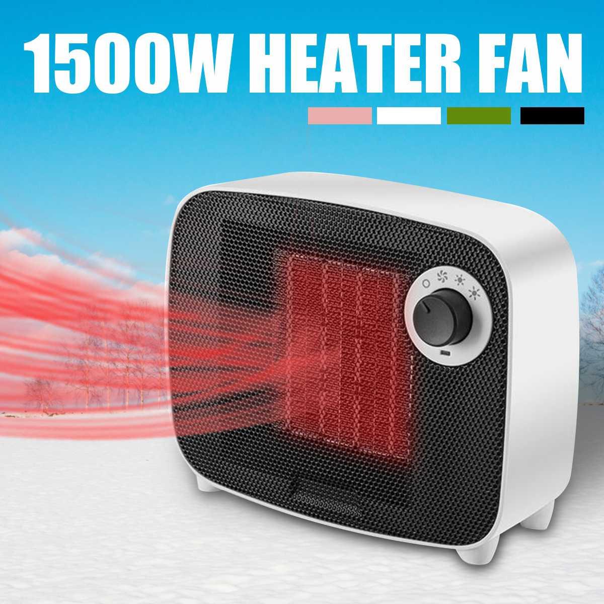 1500W Electric Heater Fan 220V Portable Electric Space Mini Heater Fan Table Handy Warmer Air Blower Fan for Home Office цена 2017