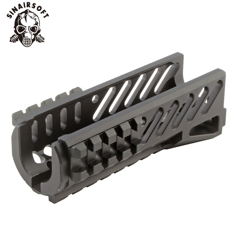 Image 2 - Hot Tactical Aks 47U Picatinny Rail Handguard Multi function Aluminum Cutting B11 Hunting Airsoft Paintball Army Accessories-in Paintball Accessories from Sports & Entertainment