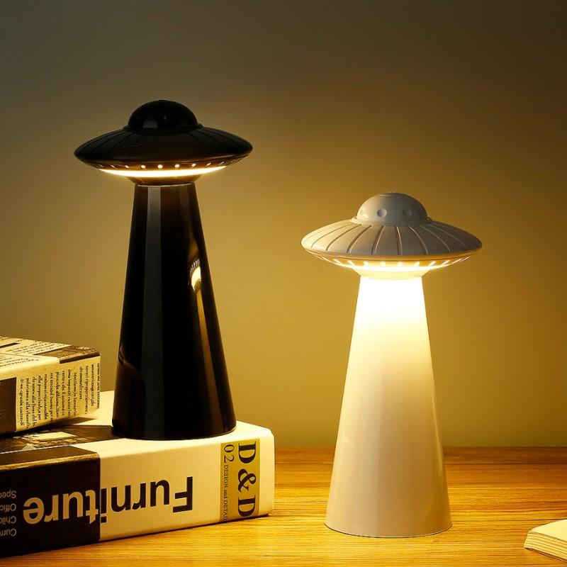 Led Night Zacht Licht Usb Oplaadbare 3 Kleuren Dimbare Tafellamp Voor Kinderen Kids Baby Nachtkastje Slaapkamer Studie Sfeer Licht