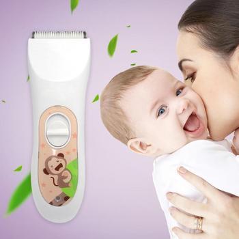 يو إس بي احترافي الكهربائية الشعر حلاقة قابلة للشحن للماء الطفل المقص المتقلب المقص للطفل و الأطفال حلاقة المنزل-استخدام