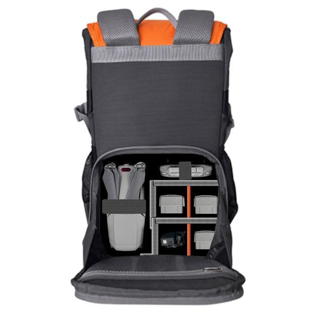 Dji mavic 2/mini/ar 2/faísca mochila transportando caixa caso fotografia à prova dwaterproof água