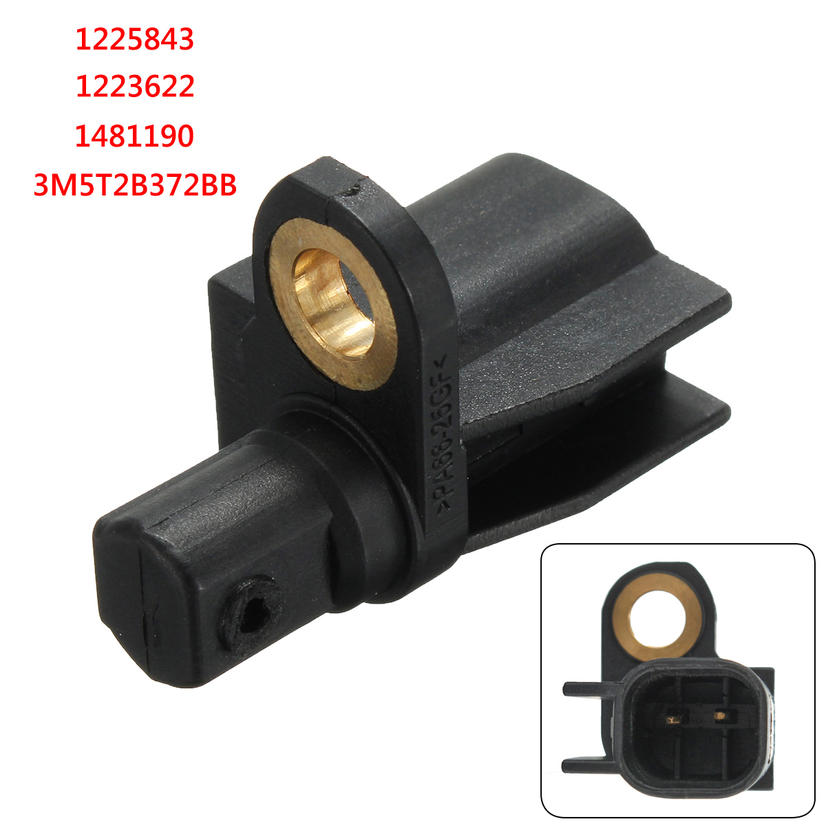 ABS Sensor Rear For Ford -Focus -Mondeo -C-Max -Galaxy -Mazda 3 1225843 1223622