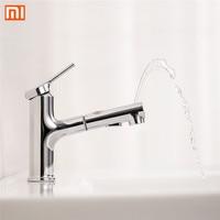 Xiaomi DABAI Bathroom Basin Sink Faucet Pull Out Rinser Sprayer Gargle Brushing 2 Mode Mixer Tap Bathroom Faucet Hot Cold